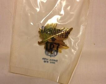 Vintage DuBARRY Fifth Avenue Leaf Broach