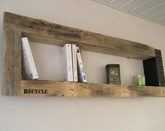 XXL wooden shelf