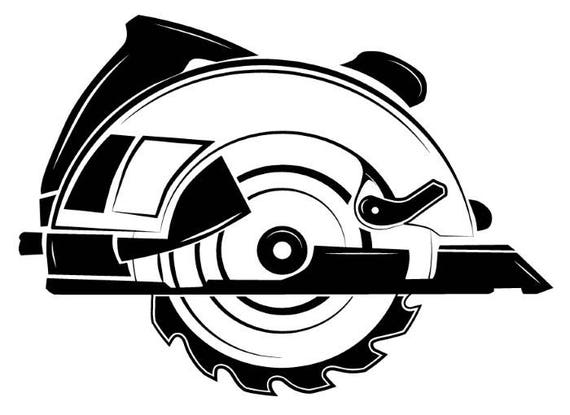 Electric Saw Blade Tool Toolbox Handyman Construction