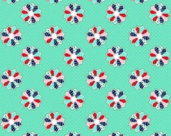 1 yard - A Little Sweetness - Dresden Mint - cotton - Tasha Noel - Riley Blake Designs