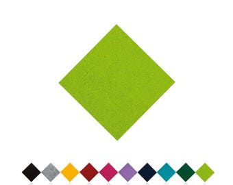 Chair cushions | LIGHT GREEN | Felt pads | Seat cover | to measure