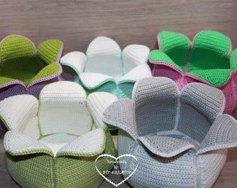 Flower basket / decorative basket to order