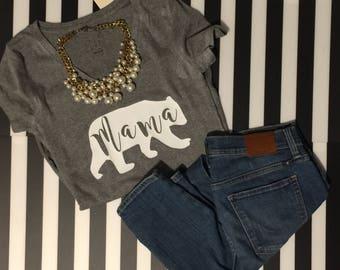 Mama Bear v-neck shirt