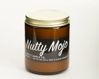 100% Soy Wax Candle — Nutty Mojo 7oz