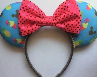 Summer Snack, Disney Food Ears, Disney Ears