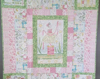 Spring Wall hanging or lap quilt