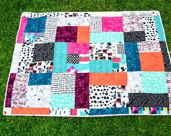 Lap Size- Modern Quilt
