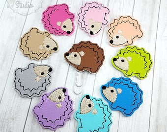 Ready To Ship! Hedgehog Planner Clip - Paperclip - Bookmark