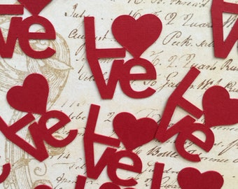 Love - Wedding - Engagement Party Confetti - 30CT