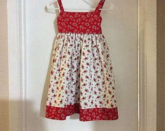 Poinsettia Christmas Dress