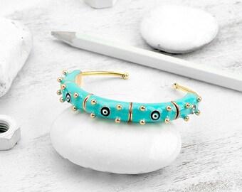 BiggDesignEvil Eye Turquoise Bracelet