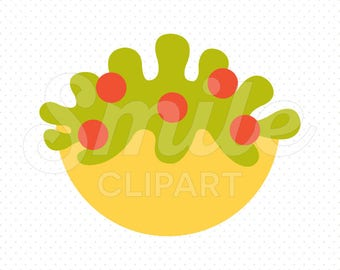 TOMATO SALAD Clipart Illustration for Commercial Use | 0086