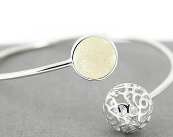 DIY Breast Milk Sterling Silver Rose Chime Ball Bracelet Bangle Kit, Do it Yourself DNA Breastmilk keepsake