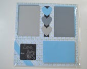 "12x12 Pre-made ""Baby Bump"" Scrapbook Page"