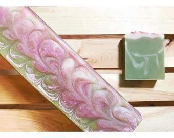Sweet Apple Organic, Vegan, Cold Process, Hnadmade Soap