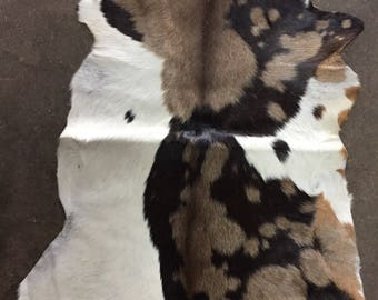Amazing Brown Goatskin Rug - OG - 211 [size 3'3 x 2'5]