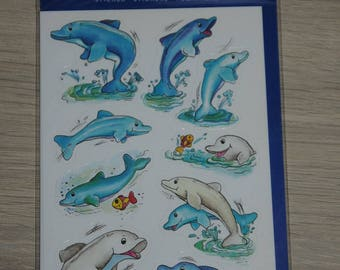 "three planks stickers themes ""dolphins"""