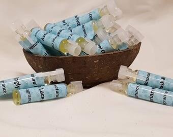 4 Perfume Oil Samples, Perfume Oil, 4 x 2ml Vegan, Natural, Alcohol Free