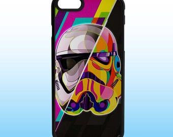 Stormtrooper Art Star Wars Iphone Case, Iphone 5, 6, 7, 8, X