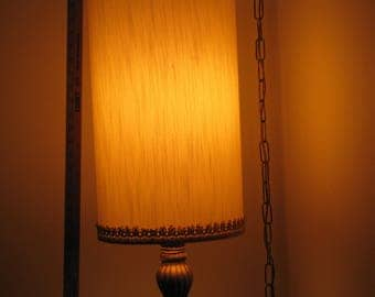 Vintage Lighting, Hanging Light Fixture, Retro Decor Item, Likely American Maker, 1960's