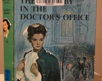 Cherry Ames - The Mystery in the Doctor's Office by Helen Wells - Nursing