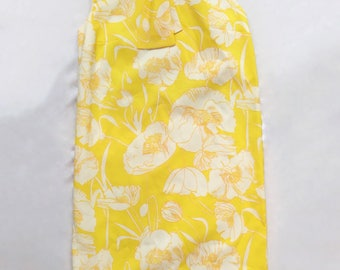 Gorgeous 60's Yellow and Poppy Dress