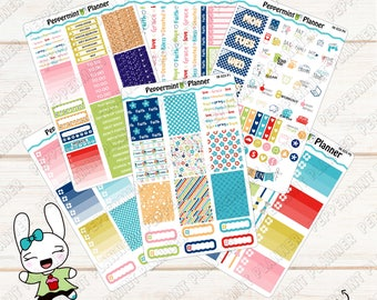 Blessed Faith Weekly Planner Kit --- Planner Stickers --- For use with the Erin Condren Vertical --- 06