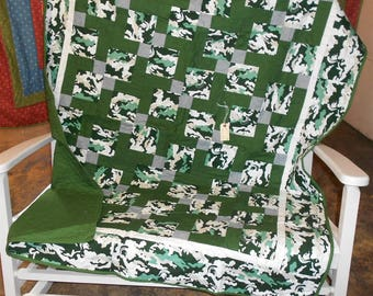 Michigan State Quilt Etsy