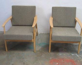 vintage 70's armchair