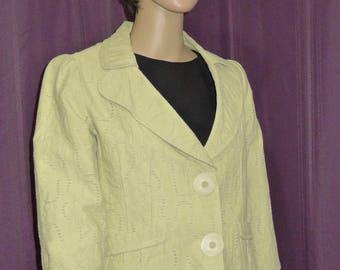VEX Collection - Lovely vintage  green blazer - Sz 40