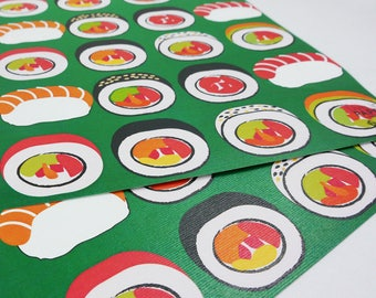 Sushi Eco Wrapping Paper