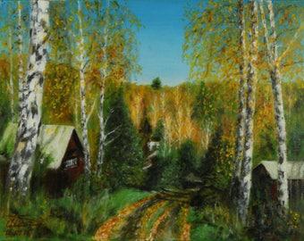Autumn in Karlyk