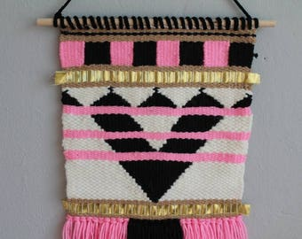 Aztec Woven Wall Hanging