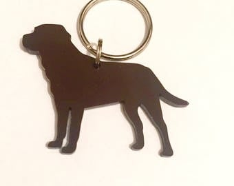Chocolate brown Labrador/Lab Dog Keyring/Bag Charm/Lanyard/Keychain