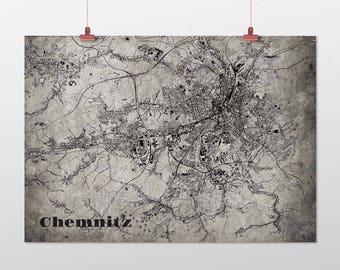 Chemnitz - A4 / A3 - print - OldSchool