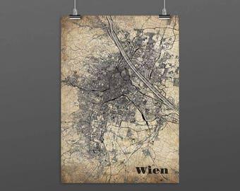 Vienna/VIENNA-Din A4/DIN A3-Print-Vintagestyle