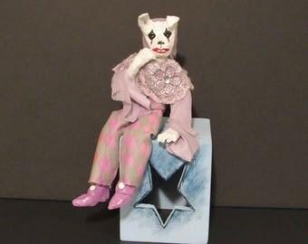 """OOAK Art Doll, """"Harla"""", Handmade Art Doll by Sherry Harrison"""
