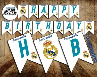 Real madrid etsy - Real madrid decorations ...