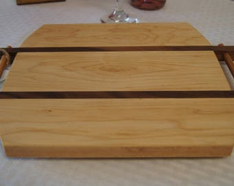 CB05 - Custom-Made Cutting Board/Serving Tray 10x12  MAPLE