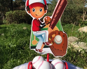 Baseball Sports Centerpieces For Game day, Birthday Parties