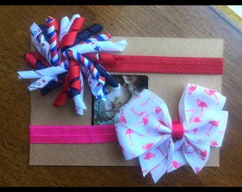 SUMMER HEADBANDS~ 4th of July~ Baby Girl Headbands~