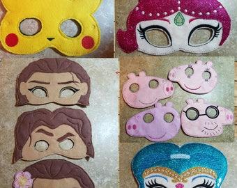 Character Masks / Sample Pricing / Half off