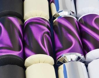 100 make fill your own crackers kit bulk buy choice of 8 purple silk make fill your own party crackers kit choose your cracker colour solutioingenieria Gallery