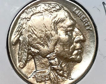 1935 P Buffalo Nickel - Choice BU / MS / UNC
