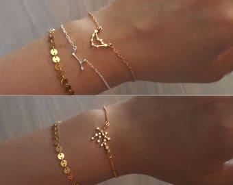 Zodiac Sign Bracelet,zodiac bracelet,Constellation Bracelet,Leo,Virgo,Libra, Scorpio,Sagittarius,Capricorn,Pisces,Gemini,Taurus,Cancer,Aries
