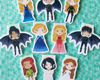 Battle of the Fae Magnetic Bookmark Set