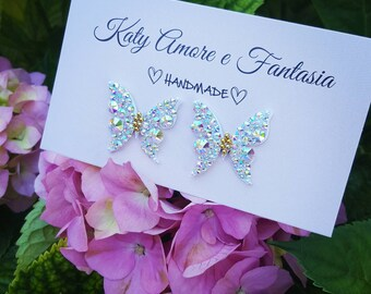 Earrings Butterfly Wedding