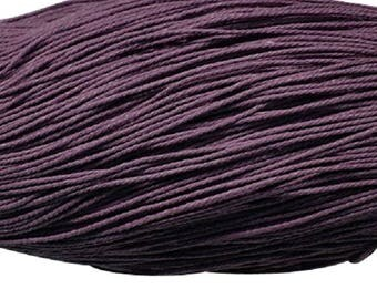 waxed cotton cord 0,7mm purple 10m