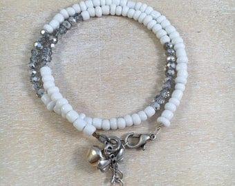 Bracelet dragonfly silver