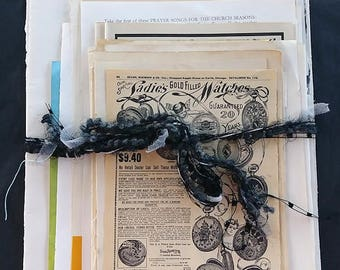 Vintage Book Pages Pack